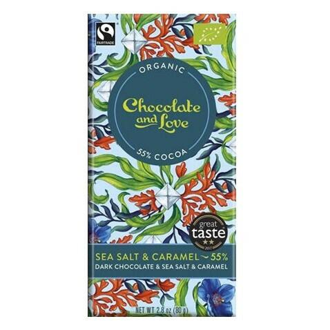 Chocolate and Love chocoladereep - Sea Salt 55%