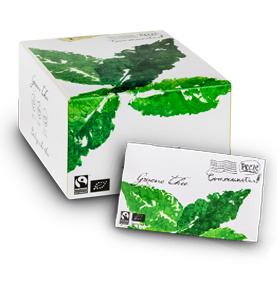 Communitea Colombo enveloppe Groen