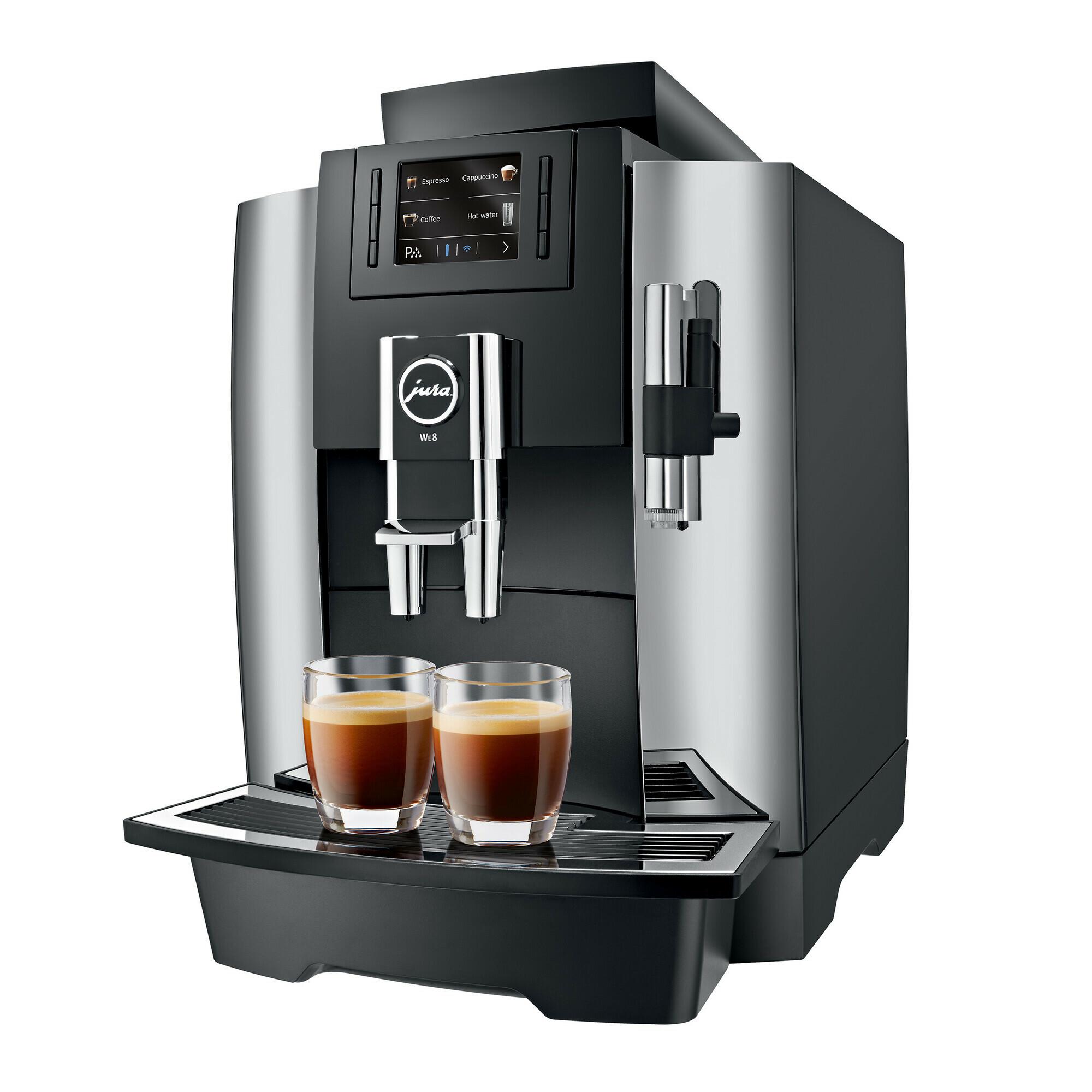 JURA WE8 Chroom koffiemachine