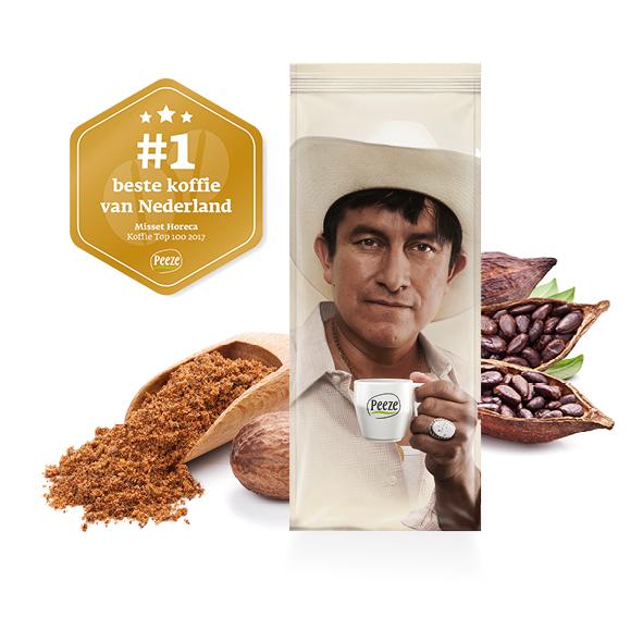Koffiebonen Ottimo fairtrade duurzaam