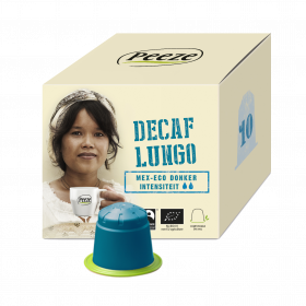 Koffiecups decaf lungo – Mex-Eco donker