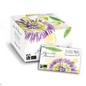 Nieuw - Communitea Colombo enveloppe Groene thee Passievrucht