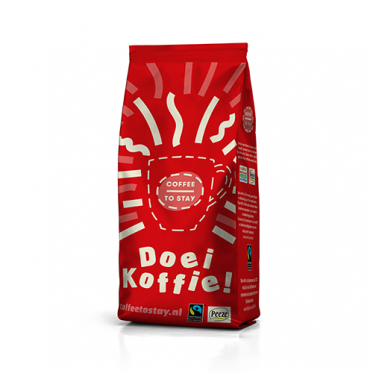 Coffee to Stay Kenia filtermaling voor Max Havelaar 250 gram