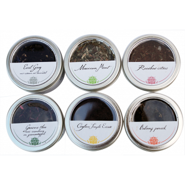 Communitea Norwood 6 blikjes losse thee (6x 25gram)