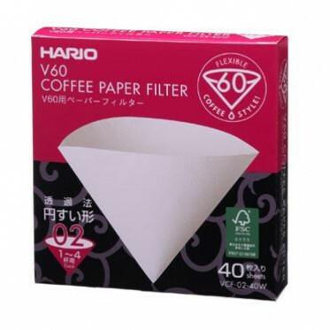 Hario Filterpapier 02 white