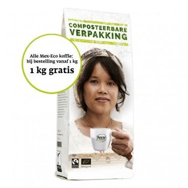Mex-eco Donker Koffiebonen