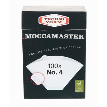 Mocca Master Filterpapier nr. 4 - 100 stuks