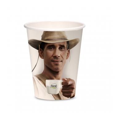Duurzame Take away beker 8oz/240 ml (cappuccino)