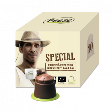 Koffiecups espresso – Sidamo special