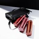 Dubbelwandige thermosfles van RVS in 3 kleuren rood - 300ml