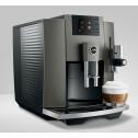 E8 Dark Inox EB koffiemachine