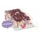 Nougatreep Cranberry 100 gr