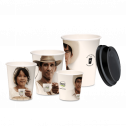 Duurzame koffiebekers 12oZ/ 350ml (cappuccino groot)