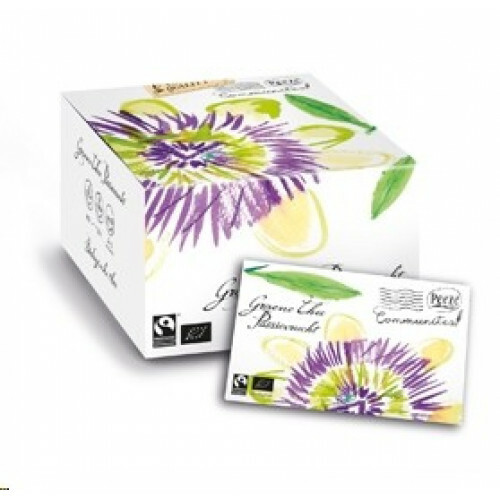Groene thee passievrucht Max Havelaar en Bio gecertificeerd