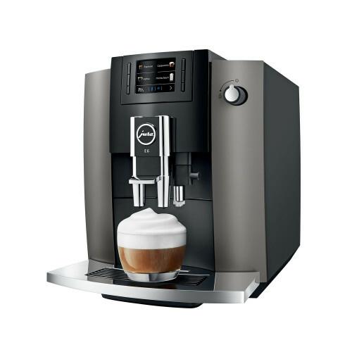 Jura E6 Dark Inox EB koffiemachine