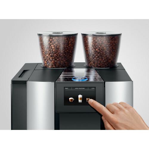 Jura Giga X8 Aluminium Chroom EU Koffiemachine voor klein zakelijk