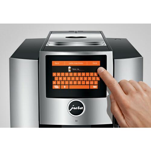 Jura S8 Chroom EA koffiemachine