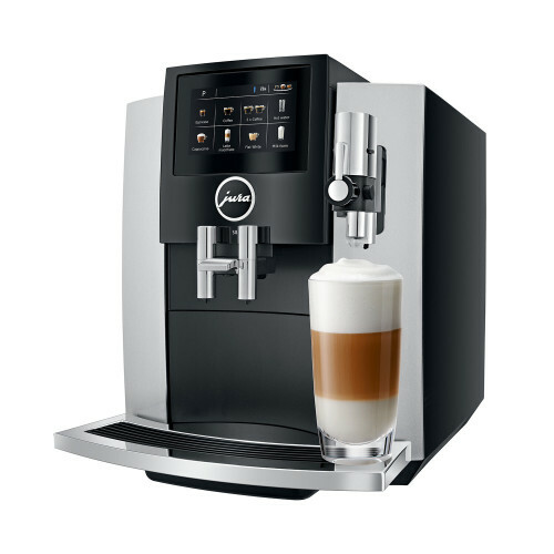 S8 Moonlight Silver EA koffiemachine