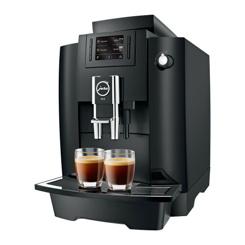 WE6 Piano Black EA koffiemachine