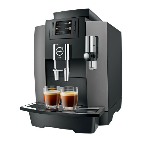 Jura WE8 Dark Inox EA koffiemachine