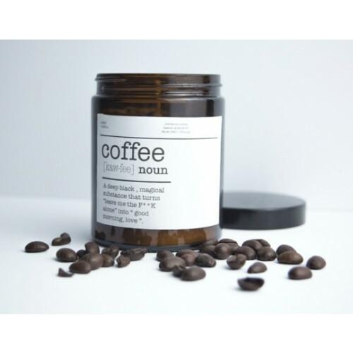 Koffie kaars