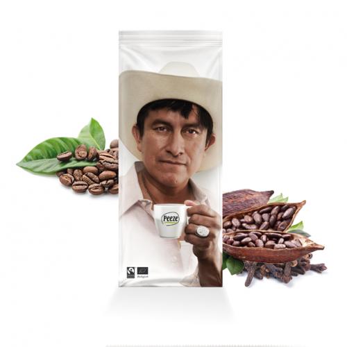 Mex-Eco espressobonen Max Havelaar en Bio gecertificeerd