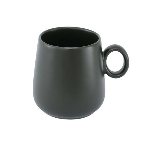 Koffie cadeaupakket met zwarte koffiemok. Speciaal voor de koffieliefhebber