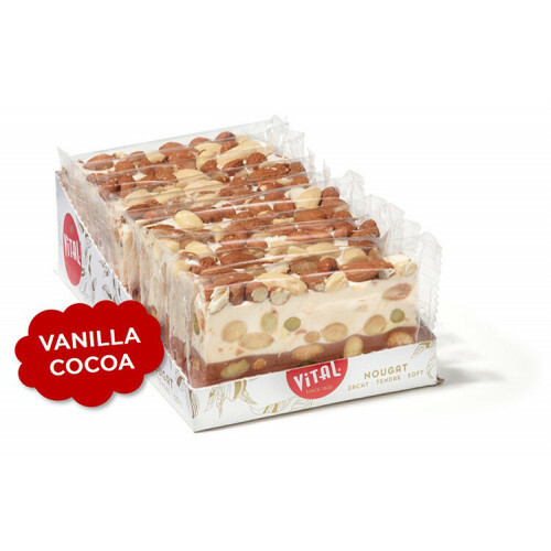 Nougatreep Vanille & Cacao 100 gr