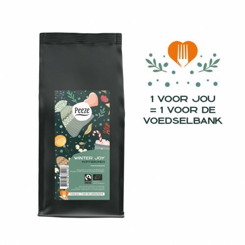 Winter Joy koffiebonen 250 gram