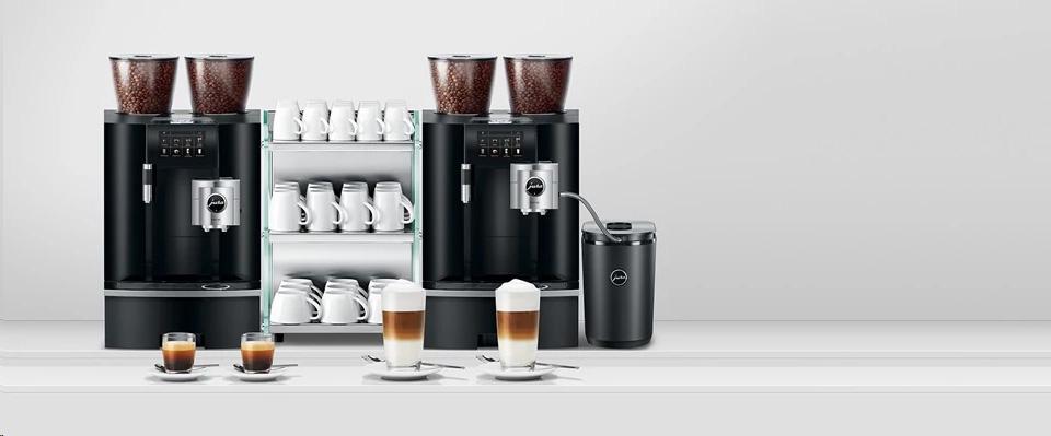 JURA Koffiemachine op het werk