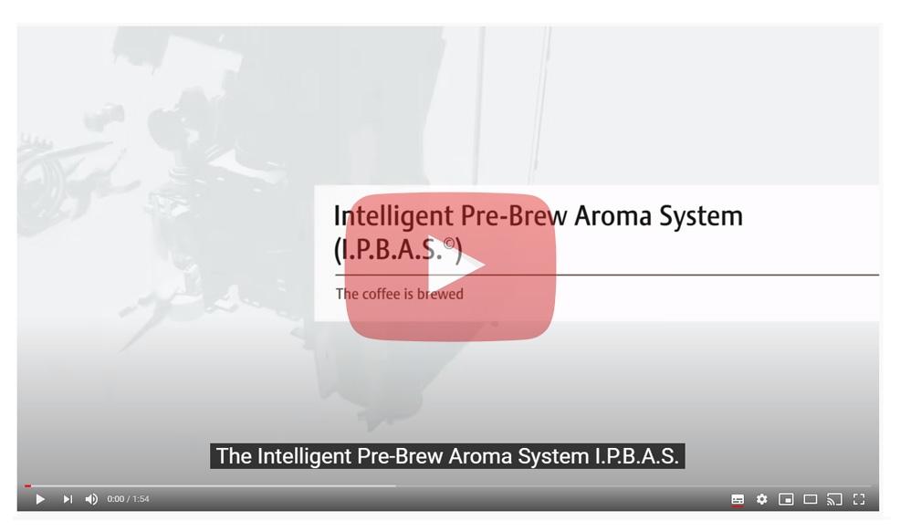 Brew system of jura